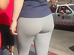 Panties, Ass, Tight, Amateur yoga pants