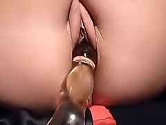 Amateur, Toys, Asian close up pussy