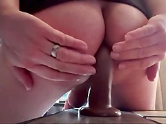 Anal, Ass, Dildo, Amateur dirty anal - ass to mouth