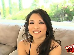 Asian, Cute, White mature mom has a secret young black lover