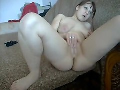 Orgasm, Strip, Great cum on face of my dunk sister
