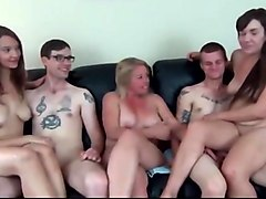 Couple, Milf, Two couples. swap
