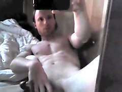 Masturbation, Jerking, Caught jerking off to porn by gf