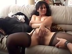 Hairy, Maid, Cuckold creampie