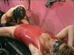 Blonde, Slave, Butt naked slave girl loves being fucked by her