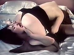 Lesbian, Redhead, Dirty talking wife cuckold and cream pie
