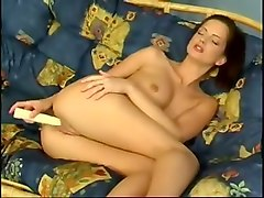 Teen, Russian mom amp boy on couch