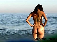 Nudist, Beach, Voyeur, Beach party
