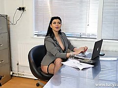 Office, Slave, Stockings, Gay foot slave punishment
