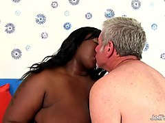Black, Fat, Shemale brutally fuck a guy extreme,