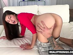 Teen, Midget takes huge cocks