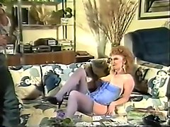 Redhead, German horny mature woman fucks young gardener