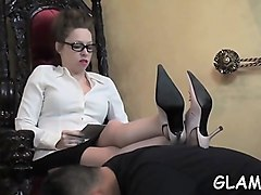 Bdsm, Domination, Slave, Female slave tied and waiting
