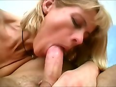 Blonde, Deepthroat, Riding, Skinny mature interracial