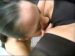 Cute, Big white ass mommy rides a black cock