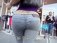 Jeans, Thong, Tight, Teenager tight ass