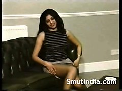Indian, Girlfriend, Shy indian teen girl with white man