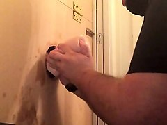 Amateur, Gloryhole, Black glory hole cock