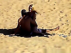 Blonde, Riding, Beach, Hot chubby college babe fucked on hidden cam