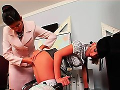 Fetish, Mistress strapon and piss