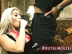 Blonde, Bondage, Milk, Young and cute