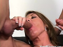 Anal, Office, Angry mom anal
