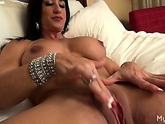 Clit, Big Clit, Female bodybuilder with big clits