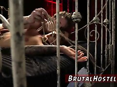 Bondage, Brutal, Rough, Hooker cum swallow
