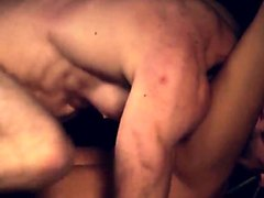 Nipples, Rough, Slave, Male slave humiliated with cum