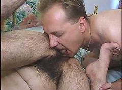 Hairy, Anal hairy older matures