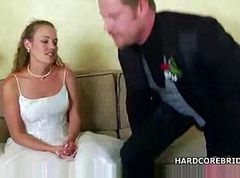 Wedding, Teen busty hottie lily fucked roughly