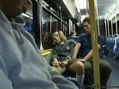 Amateur, Anal, Bus, Fondling and groping in bus
