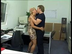 Anal, Office, German, Office gangbang