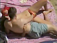 Orgasm, Beach, Big tit beach