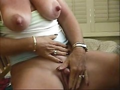 Nipples, Clit, Big Clit, Alone big clitted pussy squirt