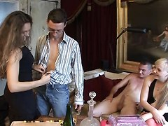 Amateur, French, Game, Lovely missy stone plays dirty games with her
