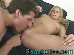 Blonde, Babe, I fuck my boss hard from behind