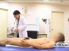 Asian, Penis, Doctor, Busty cfnm anal