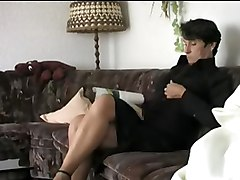 Orgasm, Strip, Wife reluctant strip for