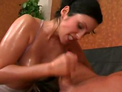 Oil, Big Cock, Eva angelina oiled up