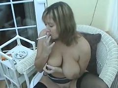 Smoking, Milf, Smoking t girl