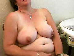 Chubby, Hairy, 2 office ladies massaged getting their hairy