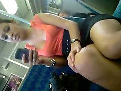 Upskirt, Train, Upskirt neighbor