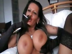 Smoking, Smoking amateur blowjob