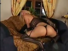Blonde, Ass, Daughter and mom go black