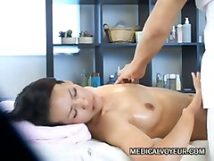 Wife, Massage, Cheating, Massage wife and hubby watches