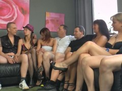 Swinger club amateur orgy