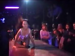 Club, Compilation, Melissa mounds dancing at night club