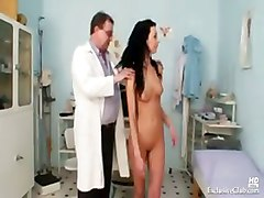Gyno, Teacher, Exam, Daughter humiliate