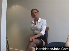 Blonde, Secretary, Secretary flash